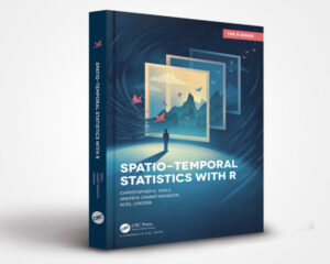 Spatio-Temporal Statistics with R (Book Cover)